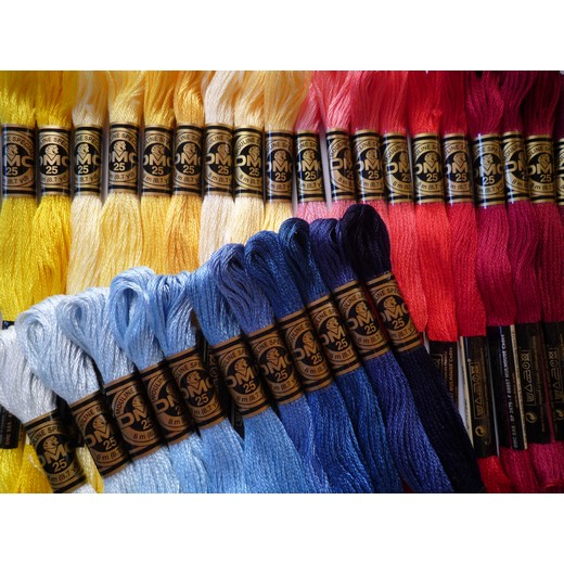 DMC刺繍糸