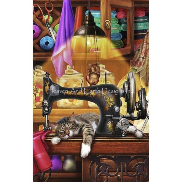 画像1: クロスステッチ図案- QS Ye Olde Craft Room-Heaven and Earth Designs(HAED) (1)