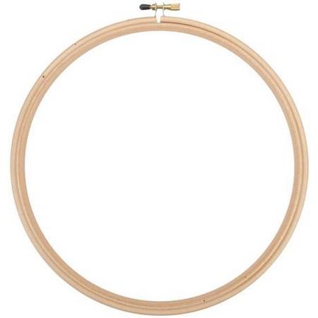画像1: 刺繍枠 20cm(8インチ) (1)