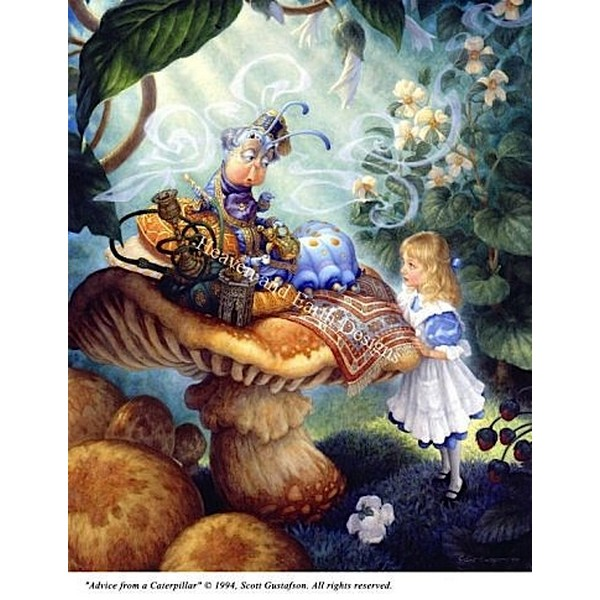 画像1: クロスステッチ キットAdvice From A Caterpillar  -HAED(Heaven And Earth Designs) (1)
