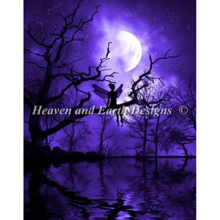 画像1: クロスステッチ キットMini The Celestial Night -HAED(Heaven And Earth Designs)   (1)