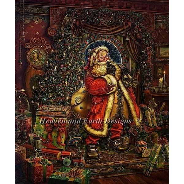画像1: クロスステッチ図案Christmas Presence-HAED(Heaven and Earth Designs) (1)