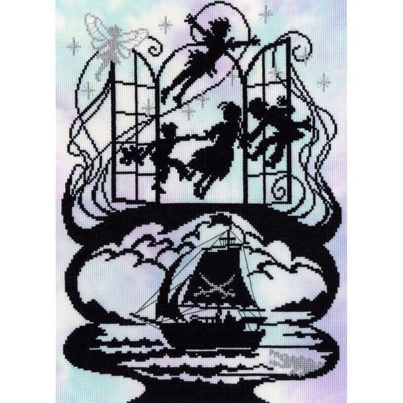 画像1: Bothy Threads-Fairytale Series Peter Pan クロスステッチ キット (1)