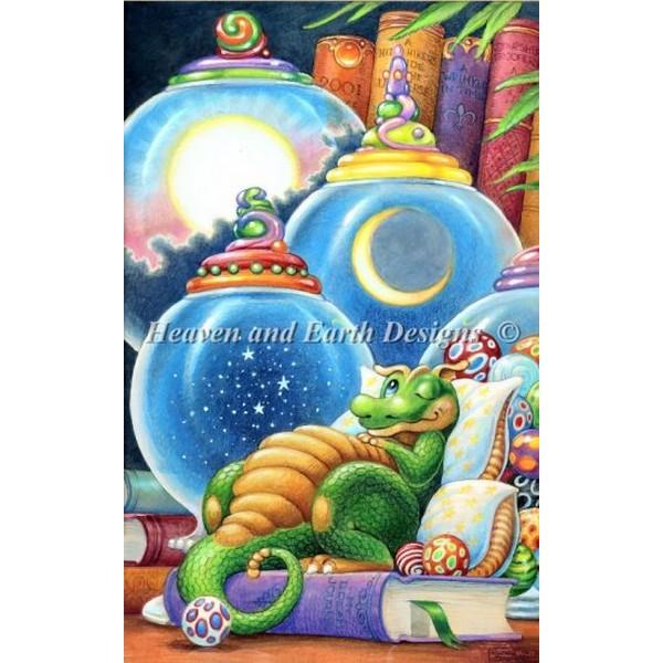 画像1: クロスステッチ キットMini Celestial Dreams -HAED(Heaven And Earth Designs)  (1)