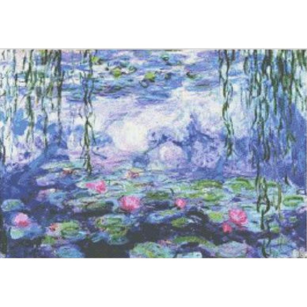 画像1: Mystic Stitch クロスステッチ図案(チャート) - Water Liles V - Monet (1)