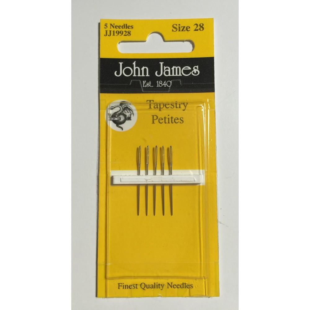 画像1: John James Tapestry Petite Needle Size 28 (1)