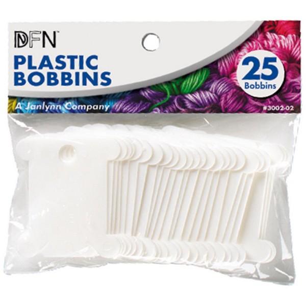画像1: Janlynn-Plastic Floss Bobbinsプラスチック製糸巻き台紙25枚入り (1)