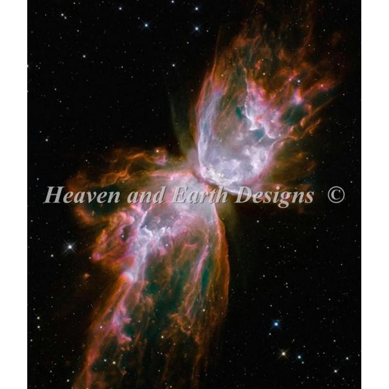 画像1: クロスステッチ図案Celestial Wings-HAED(Heaven and Earth Designs) (1)