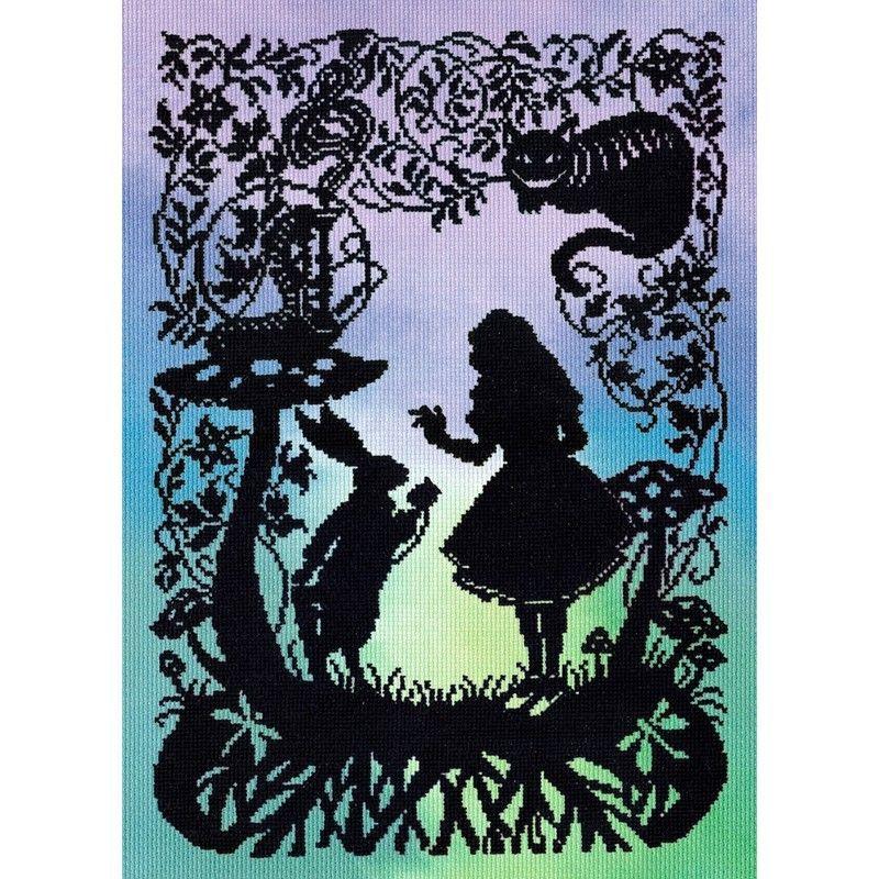 画像1: クロスステッチ キット Alice in Wonderland - Fairytale Series -Bothy Threads (1)
