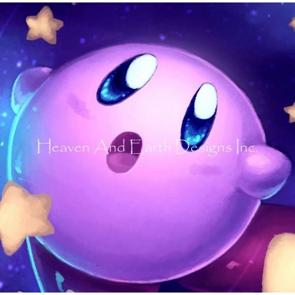 画像1: クロスステッチ図案- QS Kirby-Heaven and Earth Designs(HAED) (1)