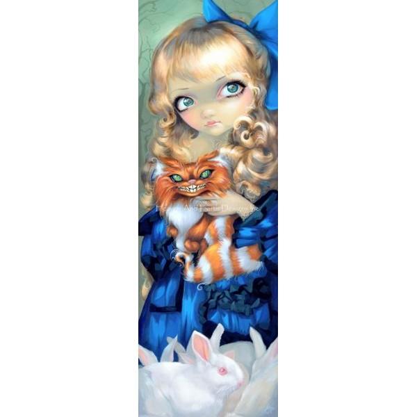 画像1: クロスステッチ図案 Mini Alice Enchanted-HAED(Heaven and Earth Designs) (1)
