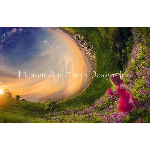 画像1: クロスステッチ図案Idyllic World-HAED(Heaven and Earth Designs) (1)