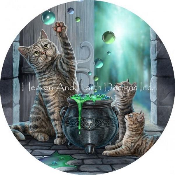 画像1: クロスステッチ図案-Ornament Hubble Bubble-Heaven and Earth Designs(HAED) (1)