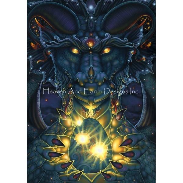 画像1: クロスステッチ図案Gift From The Void-HAED(Heaven and Earth Designs) (1)