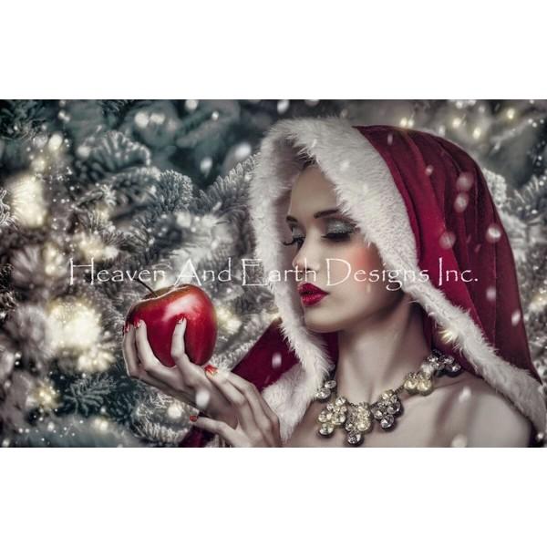 画像1: クロスステッチ図案Mini Snow White TH-HAED(Heaven and Earth Designs) (1)