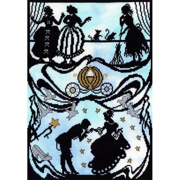 画像1: クロスステッチ キット Cinderella - Fairytale Series -Bothy Threads (1)