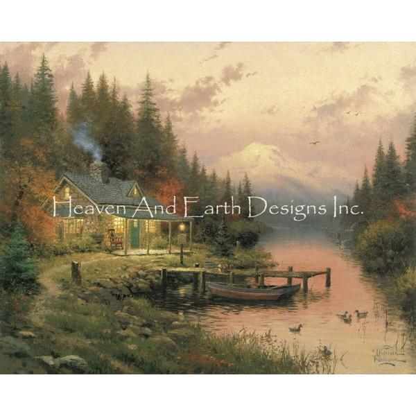 画像1: クロスステッチ図案The End of a Perfect Day-HAED(Heaven and Earth Designs) (1)