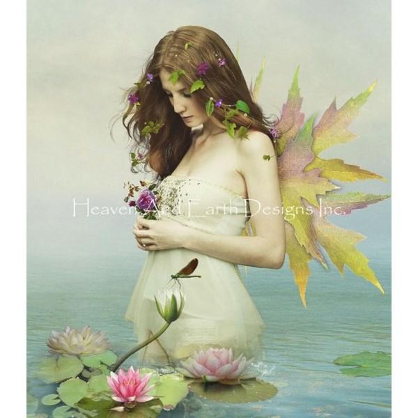 画像1: クロスステッチ図案 QS Violetta Max Colors-Heaven and Earth Designs(HAED) (1)