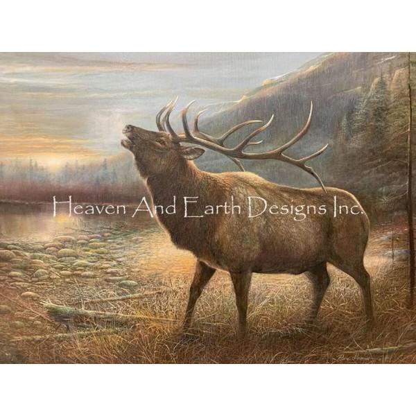画像1: クロスステッチ図案Call Of The Wild -HAED(Heaven and Earth Designs) (1)