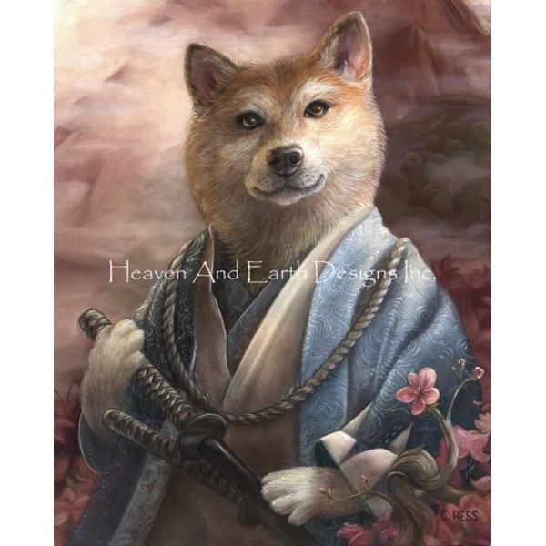 画像1: クロスステッチ キットYamanami Keishiba 25ctルガナ -HAED(Heaven and Earth Designs) (1)
