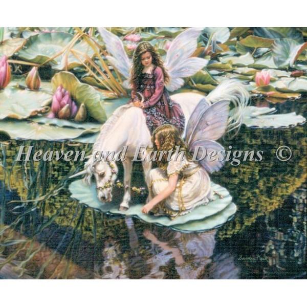 画像1: クロスステッチ図案 Hopes And Dreams-HAED(Heaven and Earth Designs) (1)