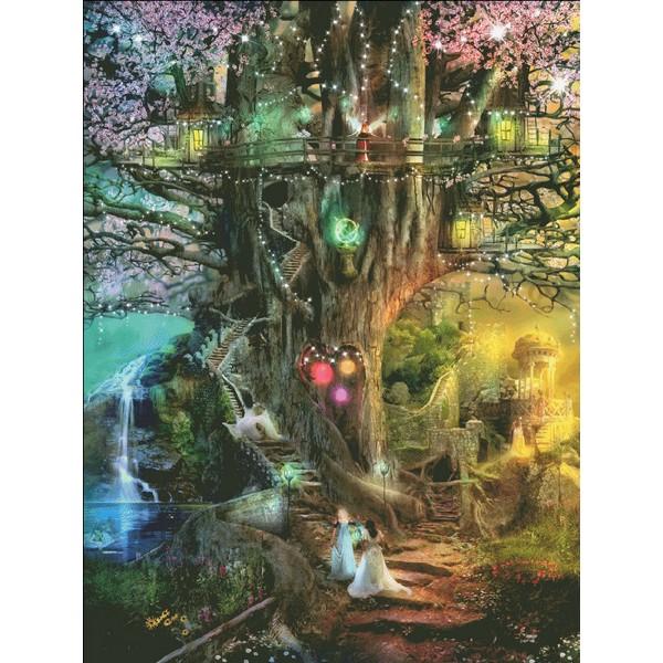 画像1: クロスステッチ図案 The Dreaming Tree Max Colors-HAED(Heaven and Earth Designs) (1)