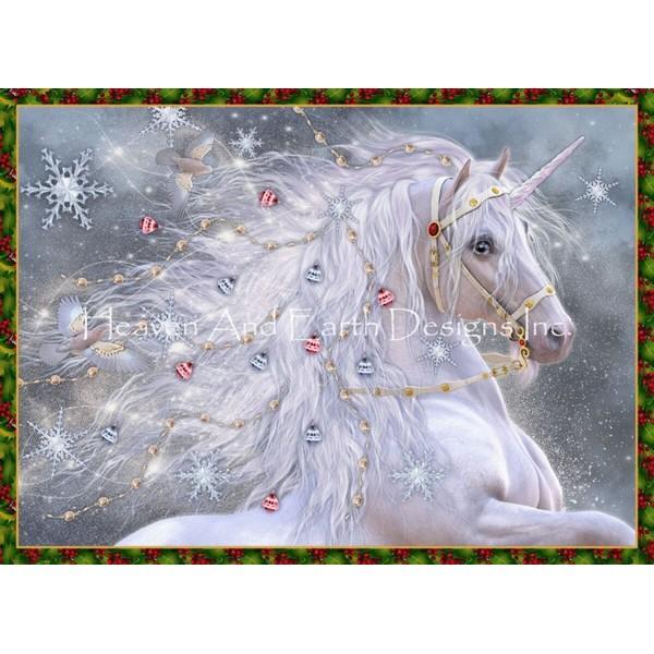 画像1: クロスステッチ図案  Holiday Magic-HAED(Heaven and Earth Designs) (1)
