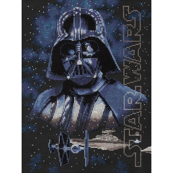 画像1: クロスステッチ キットStar Wars(スターウォーズ) - Darth Vader-Dimensions(ディメンジョンズ) (1)