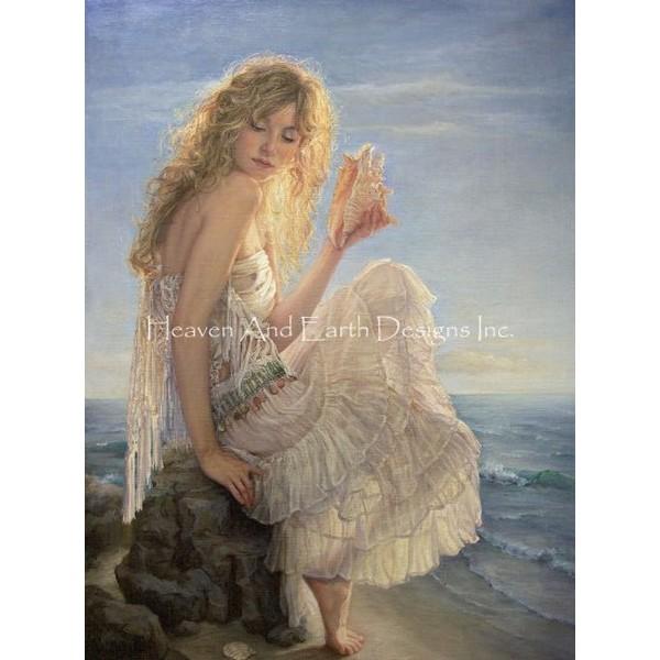 画像1: クロスステッチ キットPerle De Mer Request A Size 刺繍糸+布のみ(図案なし)-HAED(Heaven and Earth Designs) (1)