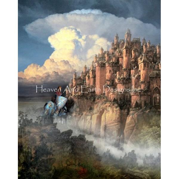 画像1: クロスステッチ図案  The Idylls Of The King - HAED(Heaven and Earth Designs) (1)