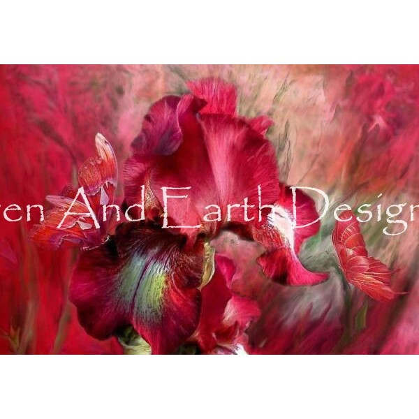 画像1: クロスステッチ図案  Goddess Of Passion Max Colors-HAED(Heaven and Earth Designs) (1)