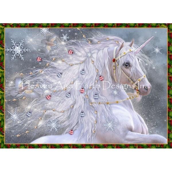 画像1: クロスステッチ図案Mini Holiday Magic-HAED(Heaven and Earth Designs) (1)