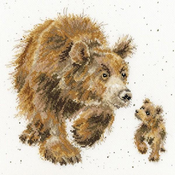 画像1: クロスステッチ キットIn My Footsteps - Hannah Dale -Bothy Threads (1)