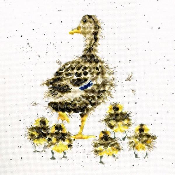 画像1: クロスステッチ キットLovely Mum - Hannah Dale -Bothy Threads (1)