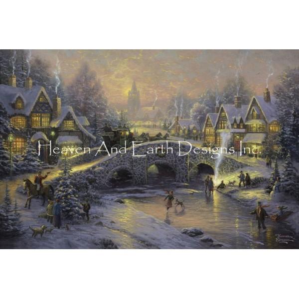 画像1: クロスステッチ図案  Spirit of Christmas - HAED(Heaven and Earth Designs) (1)