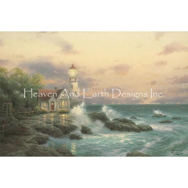 画像1: クロスステッチ図案  Beacon of Hope - HAED(Heaven and Earth Designs) (1)
