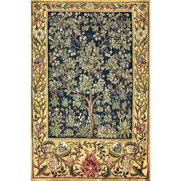 画像1: クロスステッチ図案Supersized Garden of Delight Max Colors-HAED(Heaven and Earth Designs) (1)
