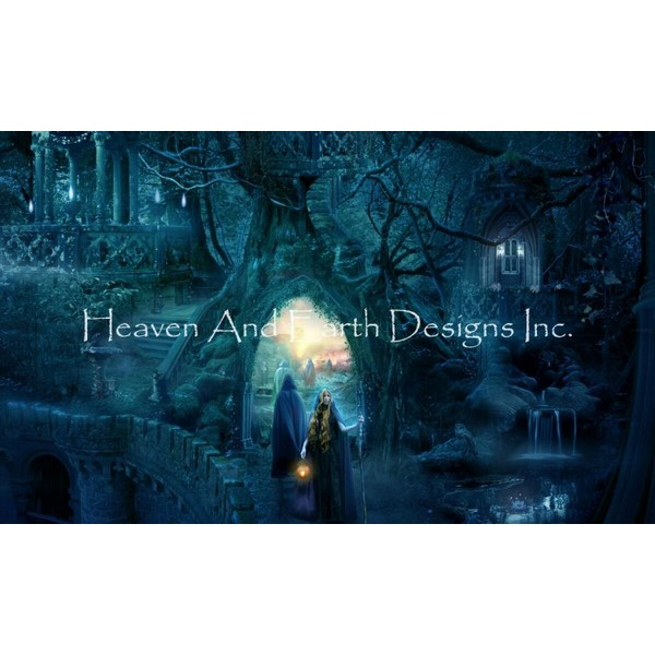 画像1: クロスステッチ図案 Farewell To Lothlorien Max Colors-HAED(Heaven and Earth Designs) (1)