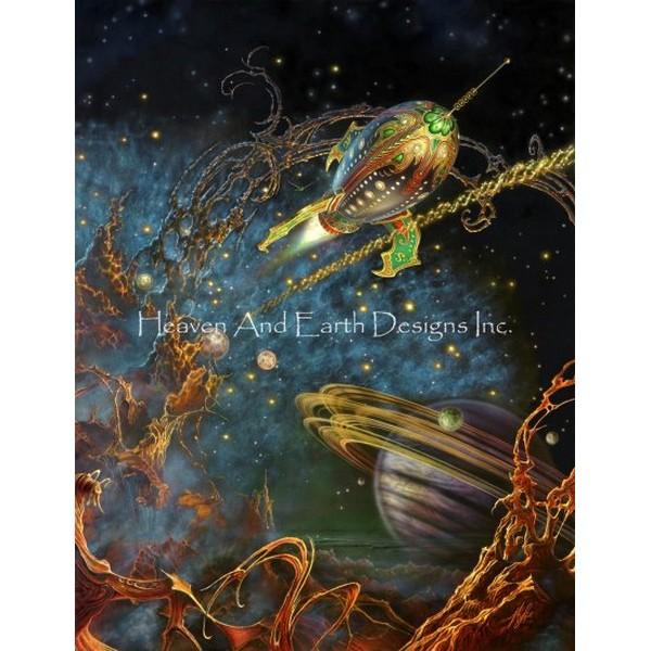 画像1: クロスステッチ キットThe Archway MP 25ctルガナ -HAED(Heaven and Earth Designs) (1)