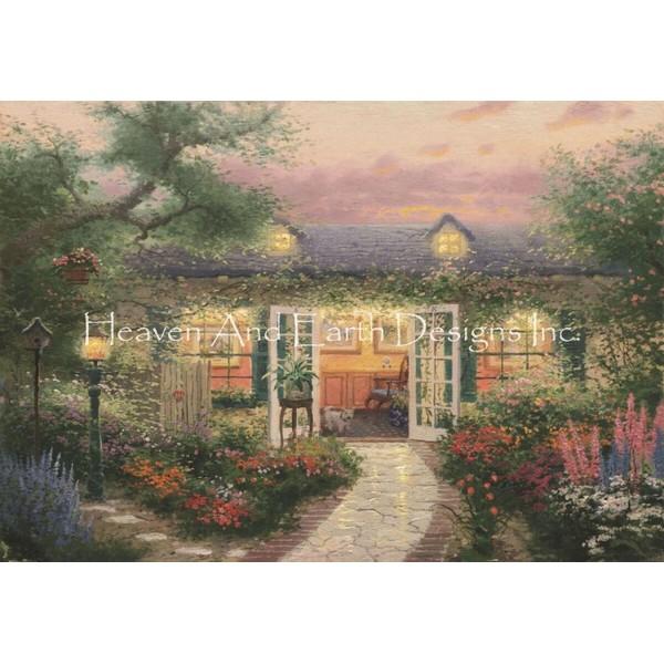 画像1: クロスステッチ図案 Studio in the Garden Max Colors-HAED(Heaven and Earth Designs) (1)