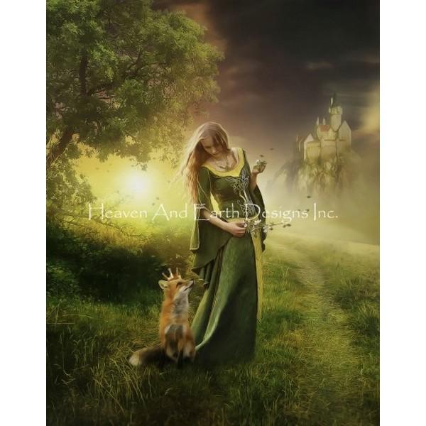 画像1: クロスステッチ キットMy Little Prince 25ctルガナ -HAED(Heaven and Earth Designs) (1)