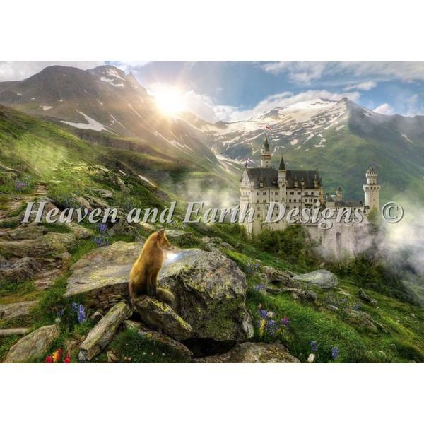 画像1: クロスステッチ キット Sunrise Sentry Max Colors 25ct  布+糸のキット(図案無し) - HAED(Heaven and Earth Designs) (1)