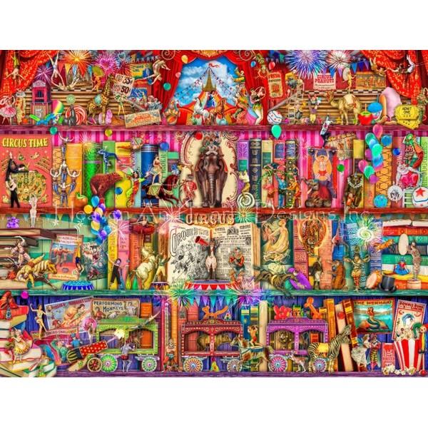 画像1: クロスステッチ キットThe Marvelous Circus 18ct -HAED(Heaven and Earth Designs) (1)
